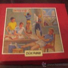 Juegos educativos: IMPRESORES BENJAMIN EN CAJA. AÑOS 50. Lote 38586458