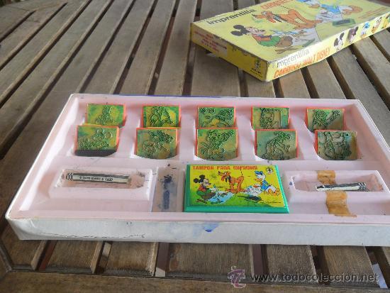 Juegos educativos: ANTIGUO JUEGO IMPRENTILLA CARRUSEL WALT DISNEY DE MARC PIQUE REG JUEGO DE PLANTILLAS - Foto 5 - 38950929