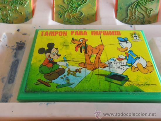 Juegos educativos: ANTIGUO JUEGO IMPRENTILLA CARRUSEL WALT DISNEY DE MARC PIQUE REG JUEGO DE PLANTILLAS - Foto 6 - 38950929