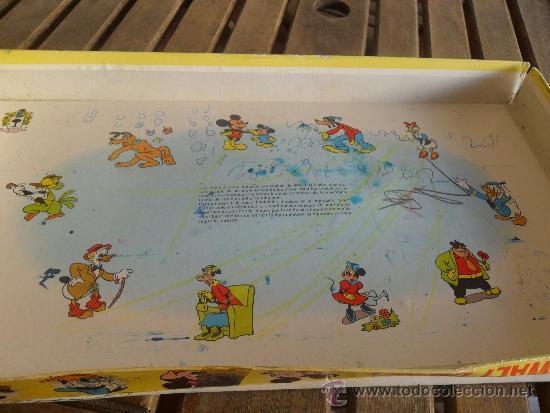 Juegos educativos: ANTIGUO JUEGO IMPRENTILLA CARRUSEL WALT DISNEY DE MARC PIQUE REG JUEGO DE PLANTILLAS - Foto 10 - 38950929