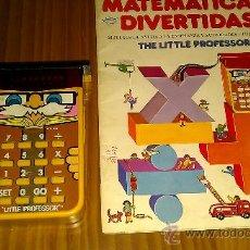 Juegos educativos: JUEGO DIDÁCTICO CALCULADORA LITTLE PROFESSOR TEXAS INSTRUMENTS- (AÑO 1976, LED/LCD, 9 V.) VINTAGE. . Lote 38985928