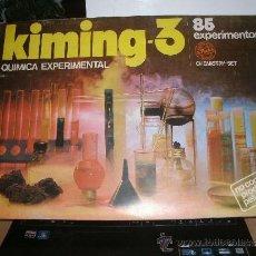 Juegos educativos: KIMING-3. QUÍMICA EXPERIMENTAL. NOVEDADES POCH. REF. 308. 85 EXPERIMENTOS. NUEVO Y PRECINTADO. Lote 39049860