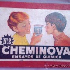 Juegos educativos: CHEMINOVA N 2 , ENSAYOS DE QUÍMICA AÑOS 50. Lote 39298405