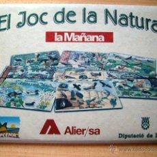 Juegos educativos: EL JOC DE LA NATURA - JOC DE PREGUNTES I RESPOSTES INFANTIL. Lote 39568412