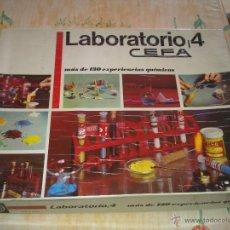 Juegos educativos: M69 LABORATORIO CEFA 4 AÑOS 70 COMPLETO Y EN BUEN ESTADO (VER DESCRIPCION). Lote 40012786