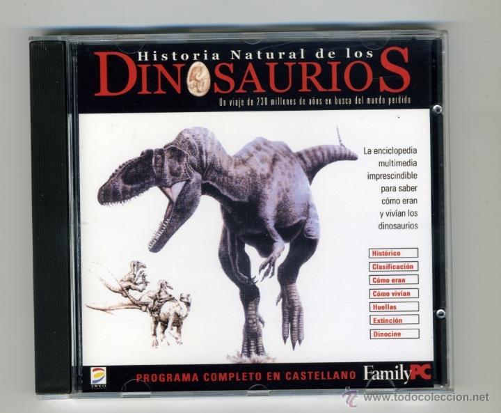 HISTORIA NATURAL DE LOS DINOSAURIOS CD - PC - FAMILYPC (Juguetes - Juegos - Educativos)