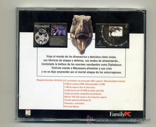 Juegos educativos: HISTORIA NATURAL DE LOS DINOSAURIOS CD - PC - FAMILYPC - Foto 2 - 39719829