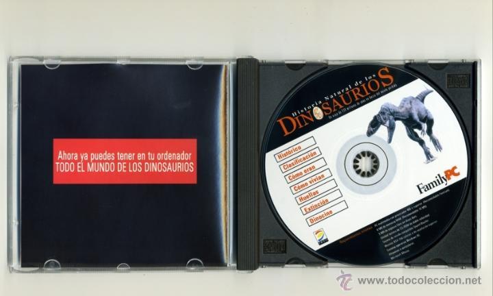 Juegos educativos: HISTORIA NATURAL DE LOS DINOSAURIOS CD - PC - FAMILYPC - Foto 3 - 39719829