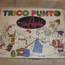 Juegos educativos: TRICO PUNTO DE LA SEÑORITA PEPIS 111-1. Lote 39905542