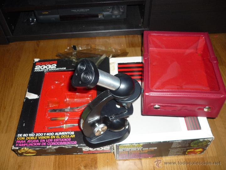 MICROSCOPIO 2002 JUGUETES EDUCATIVOS AÑOS 70 CON CAJA (Juguetes - Juegos - Educativos)