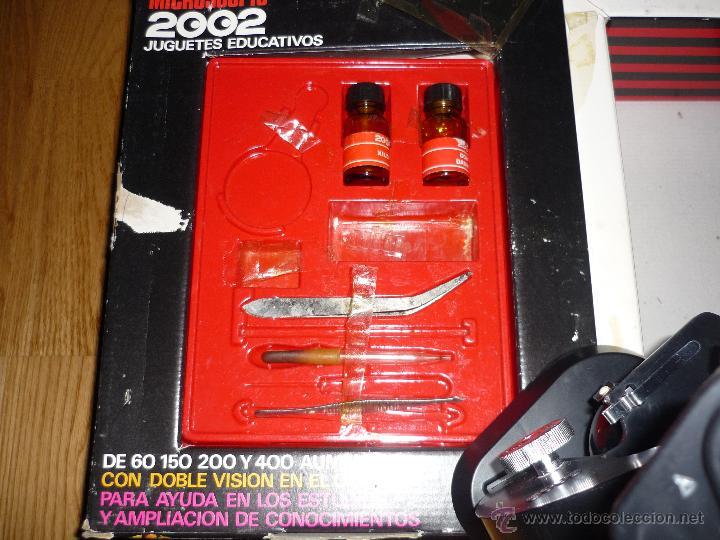 Juegos educativos: Microscopio 2002 Juguetes Educativos años 70 con caja - Foto 2 - 40058142