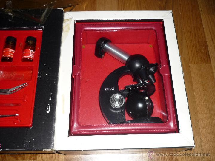 Juegos educativos: Microscopio 2002 Juguetes Educativos años 70 con caja - Foto 3 - 40058142