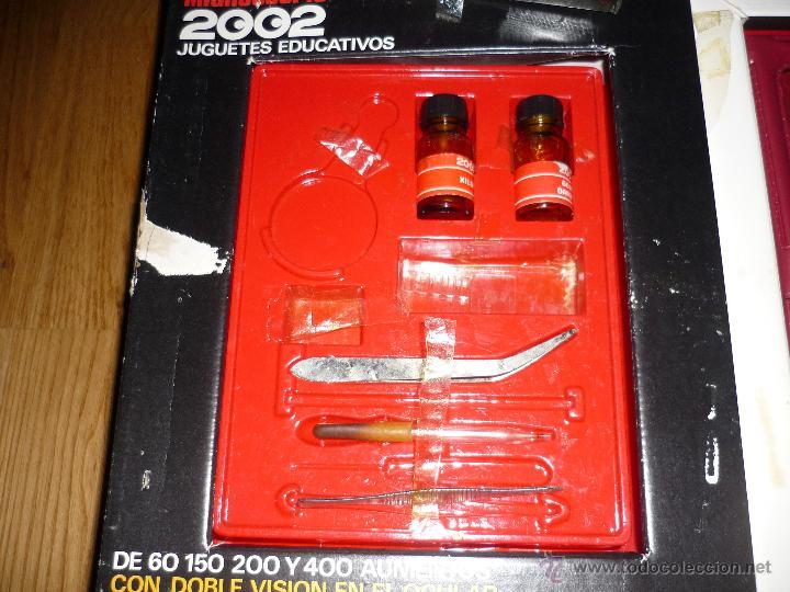 Juegos educativos: Microscopio 2002 Juguetes Educativos años 70 con caja - Foto 4 - 40058142