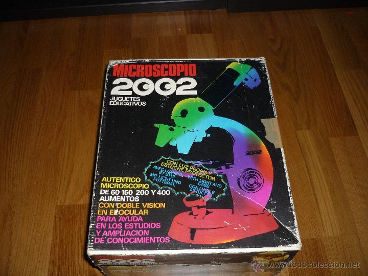 Juegos educativos: Microscopio 2002 Juguetes Educativos años 70 con caja - Foto 6 - 40058142