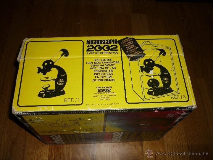 Juegos educativos: Microscopio 2002 Juguetes Educativos años 70 con caja - Foto 7 - 40058142
