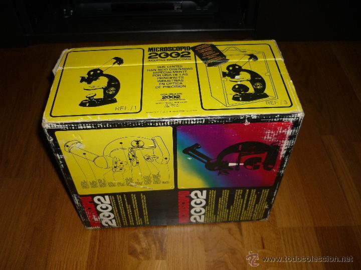 Juegos educativos: Microscopio 2002 Juguetes Educativos años 70 con caja - Foto 8 - 40058142