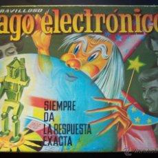 Lernspiele - El maravilloso Mago Electrónico. CEFA. Juego original. 1968 - 40476170