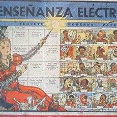 Juegos educativos: JUGUETES INSTRUCTIVOS J.M. ENSEÑANZA ELECTRICA. AÑOS 40. EL JUGUETE ORIGINAL Y FUNCIONANDO¡¡¡¡¡¡¡. Lote 176512614