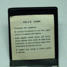Juegos educativos: JUEGO HABILIDAD XELL'S GAME AÑOS 80 CON FUNDA. Lote 40614866