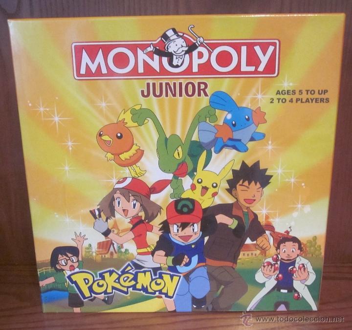 Monopoly Junior Pokemon Caja Original Sin Despr Comprar Juegos