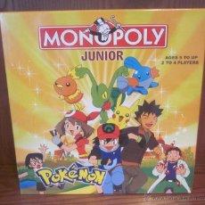 Juegos educativos: MONOPOLY JUNIOR POKEMON,CAJA ORIGINAL,SIN DESPRECINTAR,A ESTRENAR. Lote 41057706