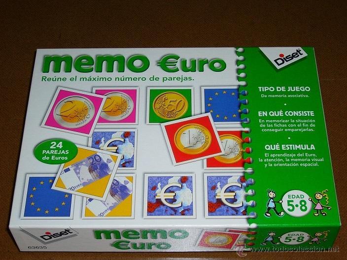 Memo Euro Diset Edad 5 8 Anos 27 5x20x5cm Comprar Juegos