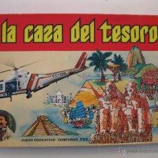 Juegos educativos: A LA CAZA DEL TESORO - JUEGO EDUCATIVO - M. DE LA CUADRA SALCEDO - DALMAU CARLES PLA.. Lote 107258578