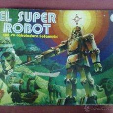 Juegos educativos: EL SUPER ROBOT CON SU CALCULADORA CEFAMATIC CEFA. Lote 41192268