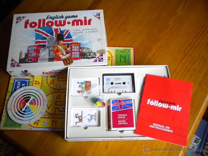 Juego De Mesa Follow Mir De Falomir Juegos 1990 Comprar Juegos