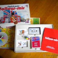 Juegos educativos: JUEGO DE MESA.FOLLOW MIR DE FALOMIR JUEGOS 1990. PARA APRENDER INGLES JUGANDO.. Lote 41352613