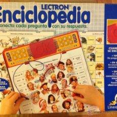 Juegos educativos: LECTRON ENCICLOPEDIA. Lote 41490460