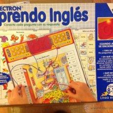 Juegos educativos: LECTRON APRENDO INGLÉS. Lote 41490537