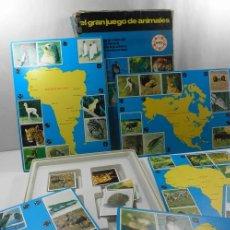Juegos educativos: ANTIGUO JUEGO DE MESA EL GRAN JUEGO DE ANIMALES * EDUCA * JUEGOS DE RAVENSBURG. Lote 41693645