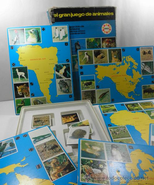 Juegos educativos: ANTIGUO JUEGO DE MESA EL GRAN JUEGO DE ANIMALES * EDUCA * JUEGOS DE RAVENSBURG - Foto 2 - 41693645