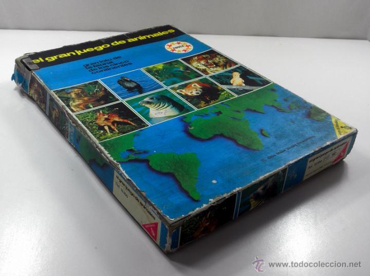 Juegos educativos: ANTIGUO JUEGO DE MESA EL GRAN JUEGO DE ANIMALES * EDUCA * JUEGOS DE RAVENSBURG - Foto 4 - 41693645