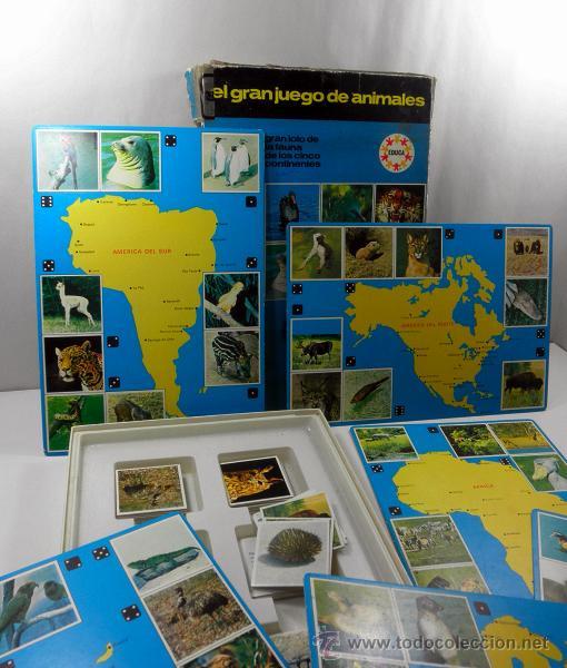 Juegos educativos: ANTIGUO JUEGO DE MESA EL GRAN JUEGO DE ANIMALES * EDUCA * JUEGOS DE RAVENSBURG - Foto 6 - 41693645