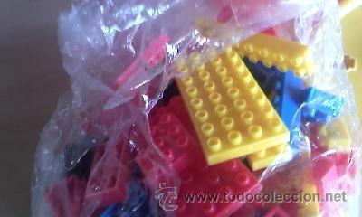 Juegos educativos: Antiguo cubo con bloques de Julio Cepeda. 168 piezas Años 80 - Foto 3 - 41730464