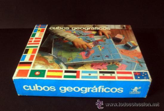 Juegos educativos: CUBOS GEOGRAFICOS DE BORRAS * ROMPECABEZAS GEOGRAFICO - Foto 3 - 41780170