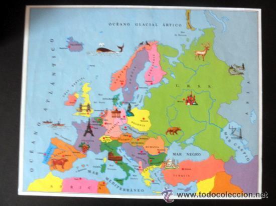 Juegos educativos: CUBOS GEOGRAFICOS DE BORRAS * ROMPECABEZAS GEOGRAFICO - Foto 11 - 41780170