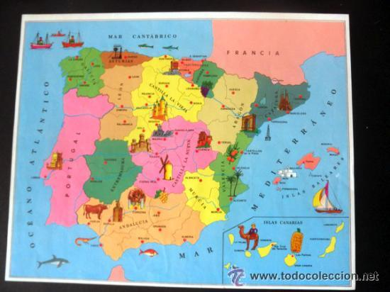 Juegos educativos: CUBOS GEOGRAFICOS DE BORRAS * ROMPECABEZAS GEOGRAFICO - Foto 13 - 41780170