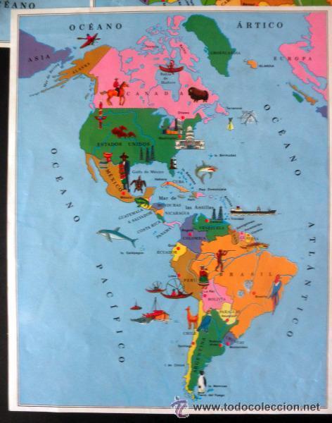 Juegos educativos: CUBOS GEOGRAFICOS DE BORRAS * ROMPECABEZAS GEOGRAFICO - Foto 14 - 41780170