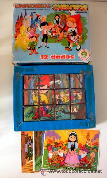 Juegos educativos: ROMPECABEZAS CUENTOS 12 DADOS * JUGUETES PIQUE * COMPLETO - Foto 3 - 41783393