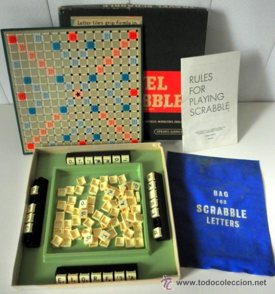 JUEGO DE MESA * TRAVEL SCRABBLE * SPEAR'S GAMES AÑOS 60 - 70 * RARA EDICION INGLESA (Juguetes - Juegos - Educativos)