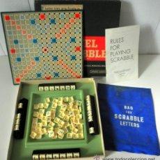 Juegos educativos: JUEGO DE MESA * TRAVEL SCRABBLE * SPEAR'S GAMES AÑOS 60 - 70 * RARA EDICION INGLESA. Lote 41787313