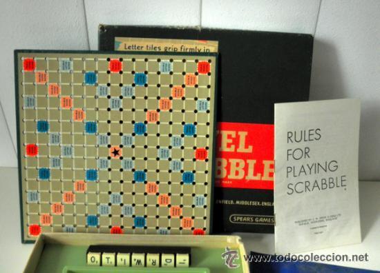 Juegos educativos: JUEGO DE MESA * TRAVEL SCRABBLE * SPEARS GAMES AÑOS 60 - 70 * RARA EDICION INGLESA - Foto 3 - 41787313