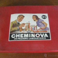 Juegos educativos: JUEGO DE QUIMICA CHEMINOVA NUMERO 4. Lote 42091507