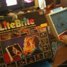 Juegos educativos: LITE BRITE EN BUEN ESTADO. Lote 42315764