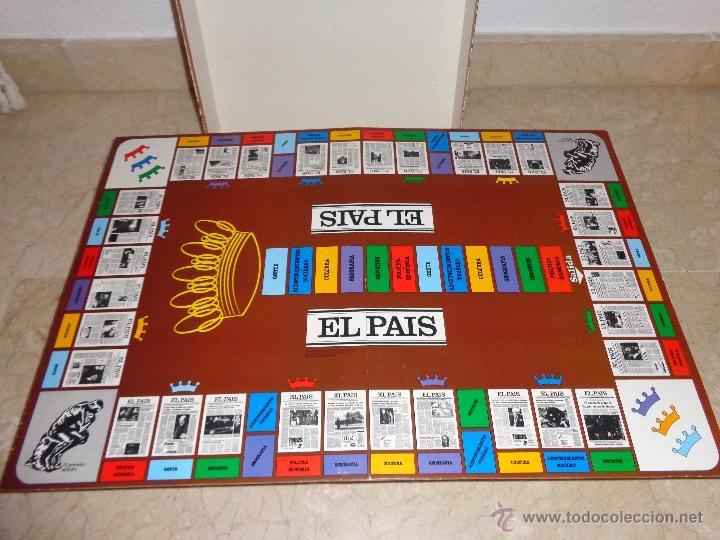 Juegos educativos: EL PAIS - EL JUEGO DE LA READACCIÓN, UN JUEGO NADA TRIVIAL AÑO 1985 COMPLETO, 111-1 - Foto 2 - 42378079