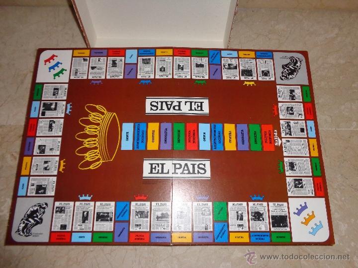 Juegos educativos: EL PAIS - EL JUEGO DE LA READACCIÓN, UN JUEGO NADA TRIVIAL AÑO 1985 COMPLETO, 111-1 - Foto 5 - 42378079