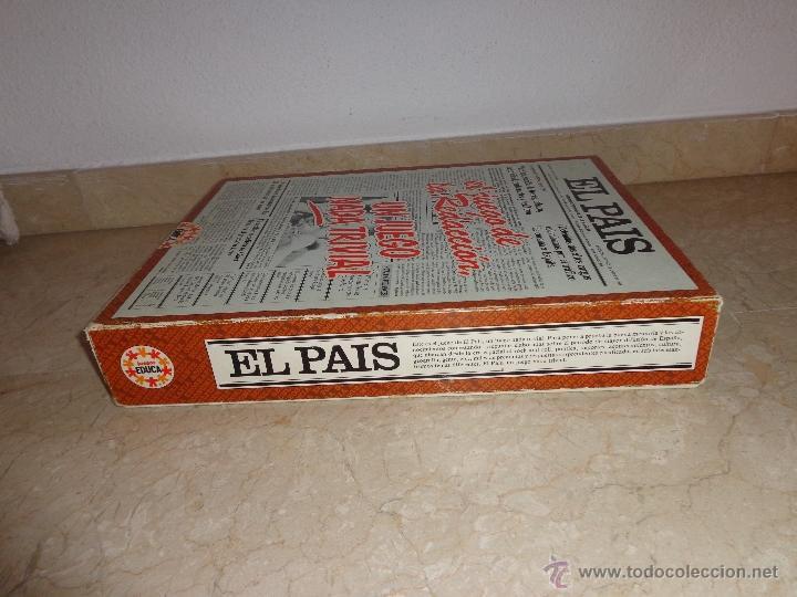 Juegos educativos: EL PAIS - EL JUEGO DE LA READACCIÓN, UN JUEGO NADA TRIVIAL AÑO 1985 COMPLETO, 111-1 - Foto 13 - 42378079